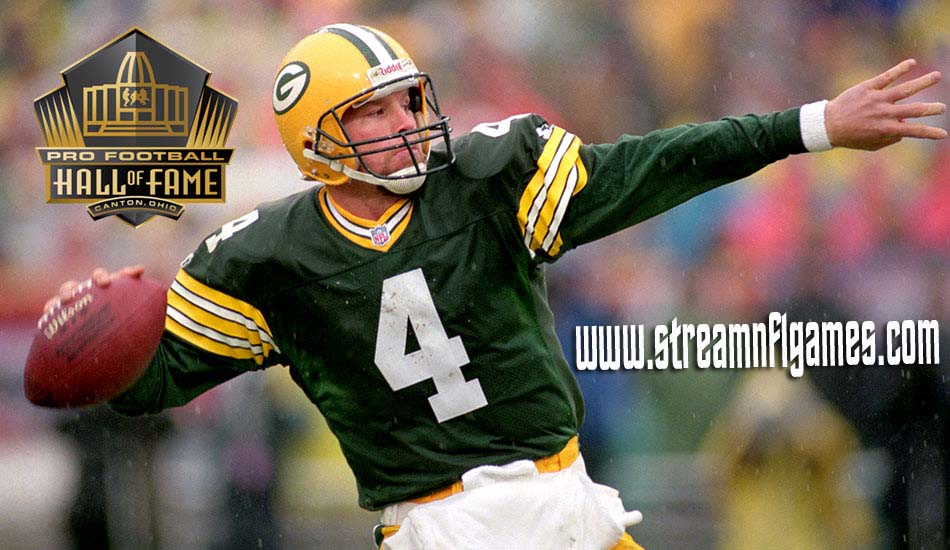 Brett Favre Hall of Fame 2016