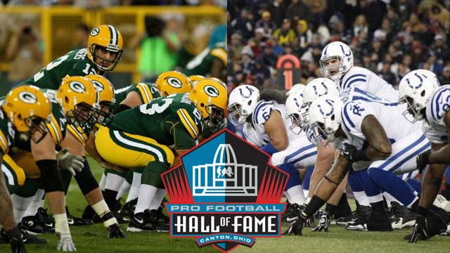 Colts vs Packers Hall of Fame Game 2016